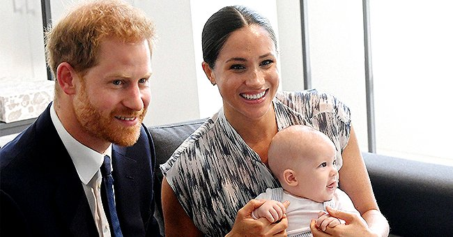 Prince Harry Reveals He's Rolling around in Hysterics with Archie during Quarantine