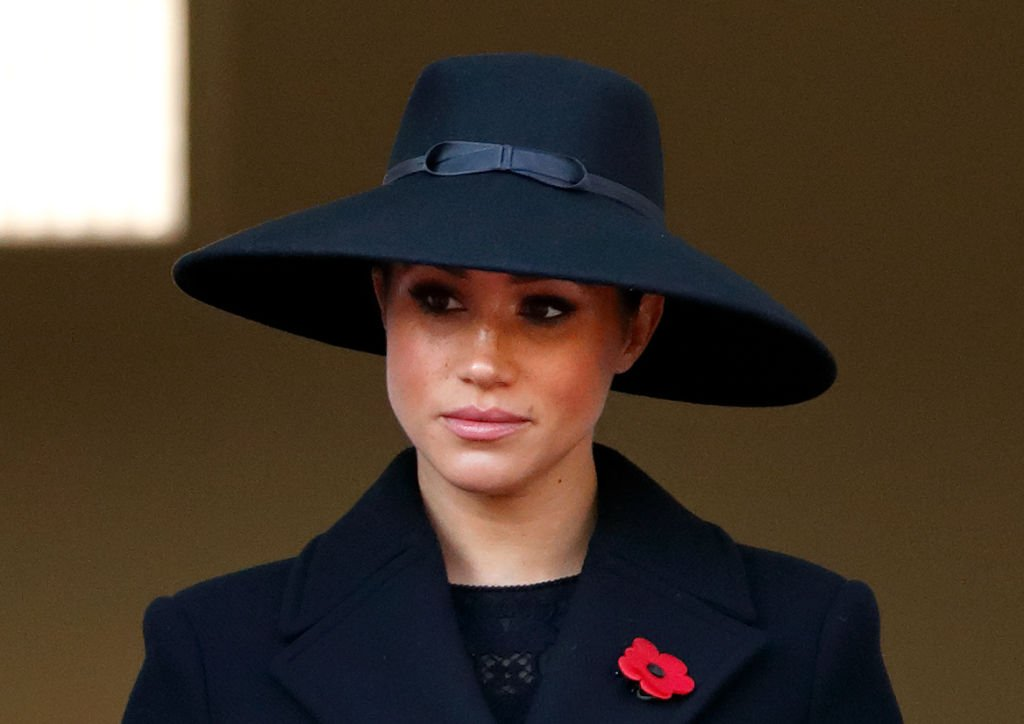 Meghan, Duchess of Sussex attends the annual Remembrance Sunday service at The Cenotaph. | Photo: Getty Images