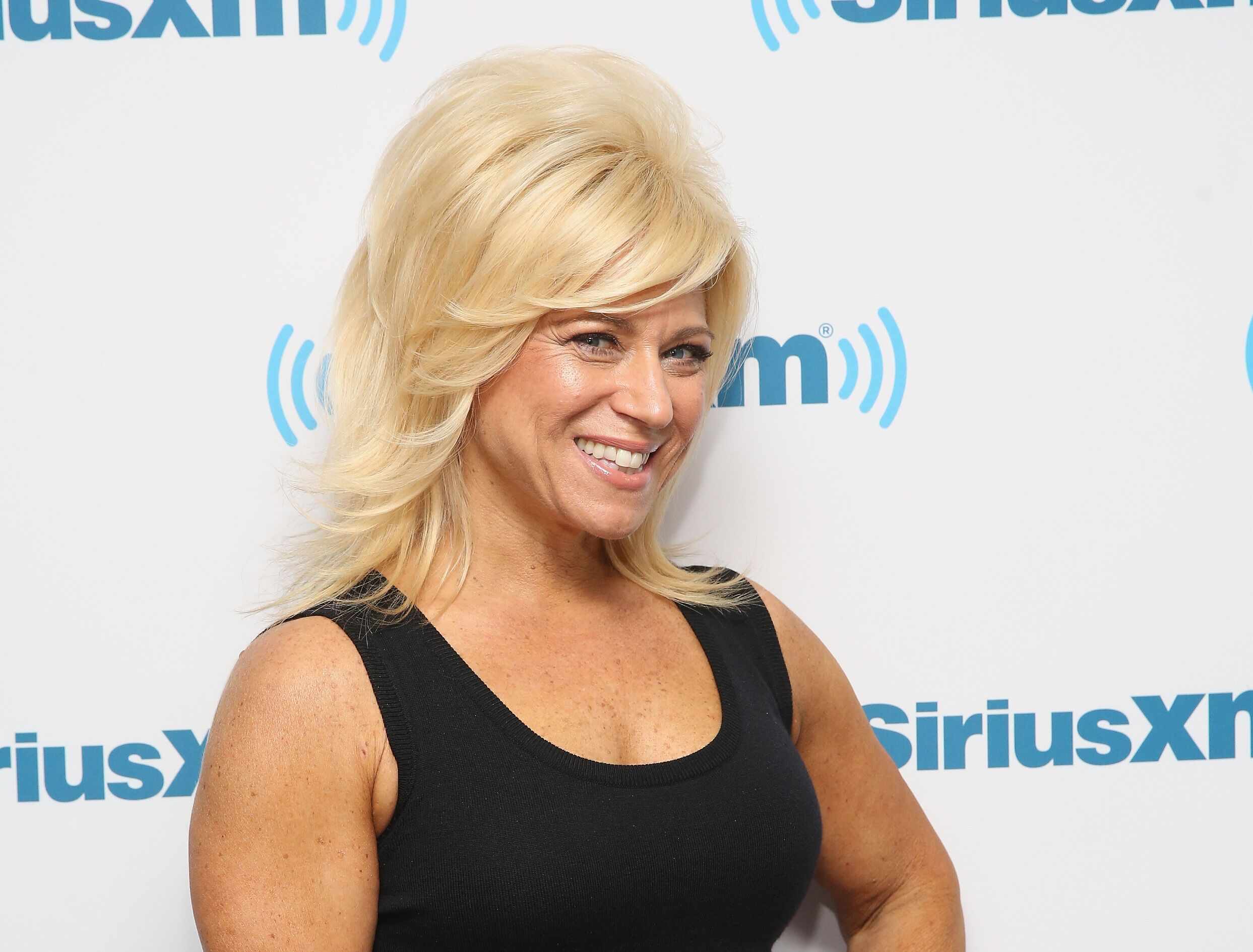 Theresa Caputo visits at SiriusXM Studios on December 15, 2015 in New York City | Photo: Getty Images