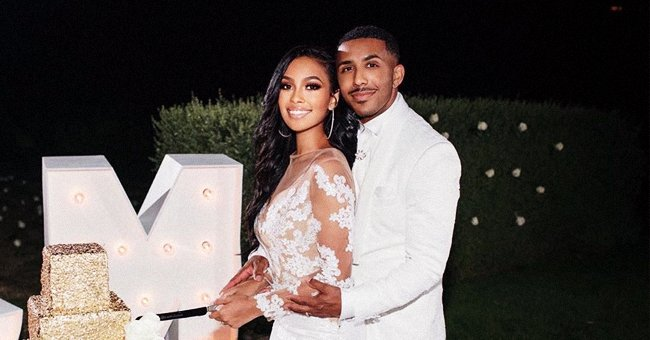 Marques Houston of 'Sister, Sister' Marries Miya Dickey in a Beautiful Private Ceremony