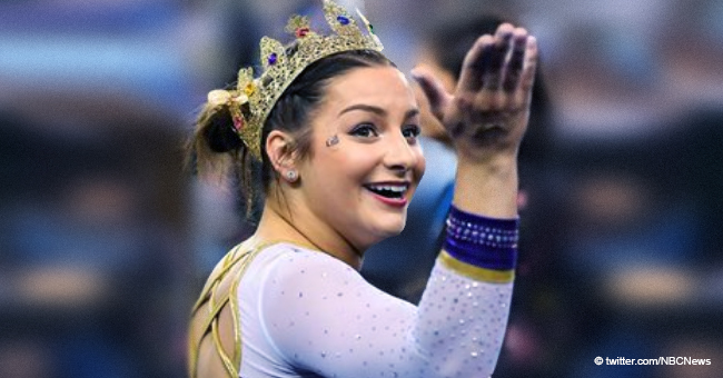 McKenna Kelley's Mom Incredibly Proud of Daughter's near-Perfect Routine at the Championships