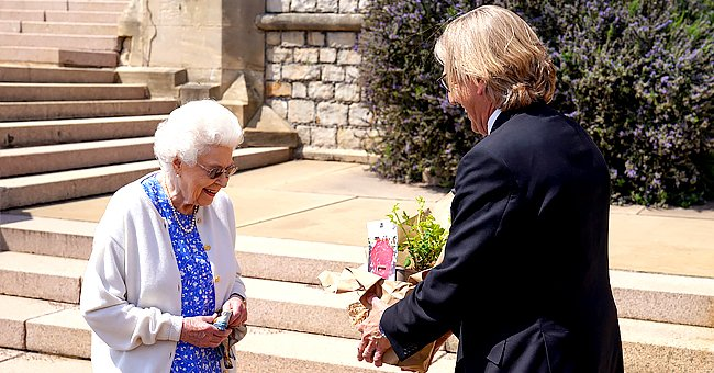 Royal Family Shares Photos of the Queen Receiving a Floral Tribute to Late Prince Philip on His 100th Birthday