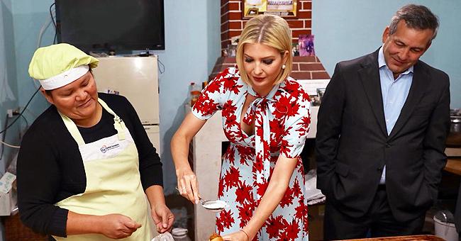 Ivanka Trump aide une boulangère en Argentine lors de sa tournée sud-américaine