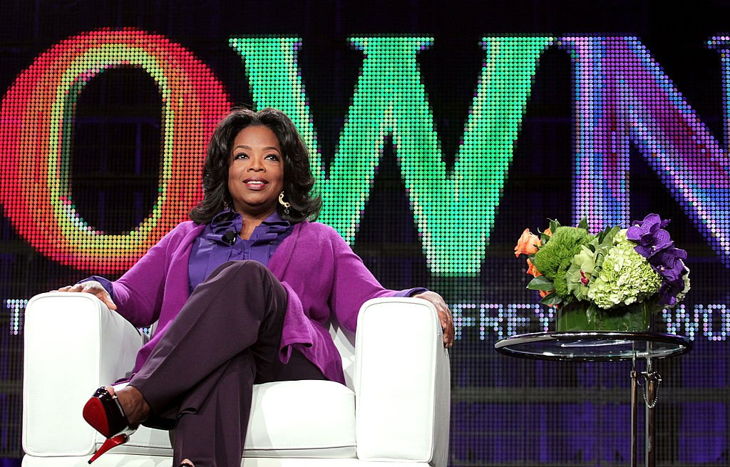 Oprah Winfrey speaks during the OWN: Oprah Winfrey Network portion of the 2011 Winter TCA press tour held at the Langham Hotel on January 6, 2011 in Pasadena, California.   Source: Getty Images