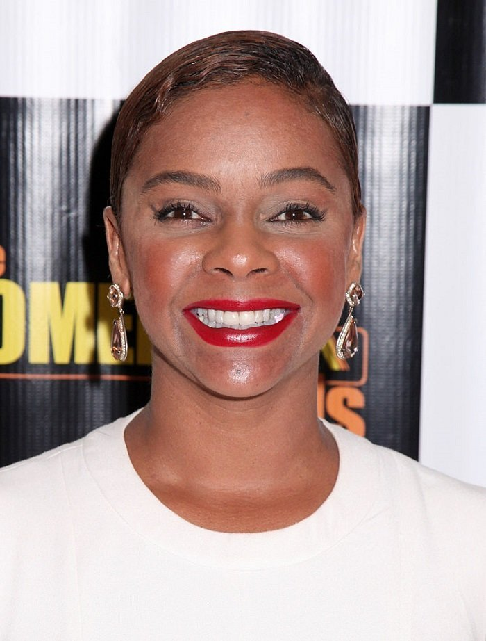 "Actress Lark Voorhies attends ""The Comeback Kids"" Los Angeles Special Screening at Landmark Theatre on February 17, 2015 