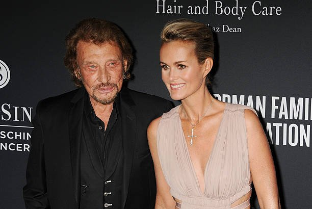 Johnny Hallyday et son épouse | Photo : Getty Images