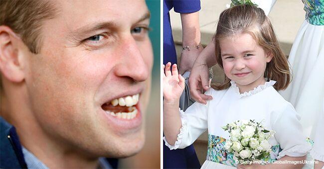 El príncipe Guillermo reveló su lucha para tratar de peinar el cabello de la princesa Carlota