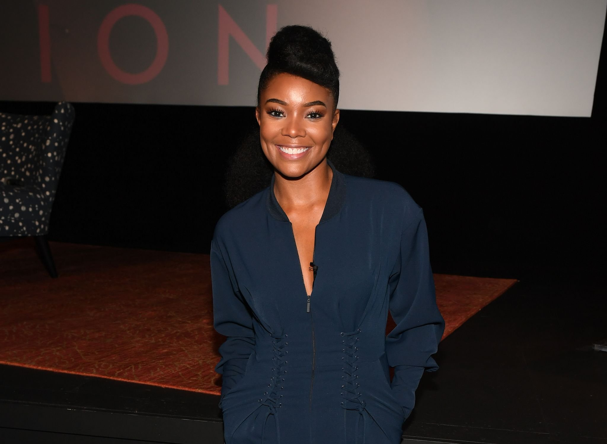 Gabrielle Union promotes her book at SCADshow on October 20, 2017 in Atlanta.   Photo: Getty Images