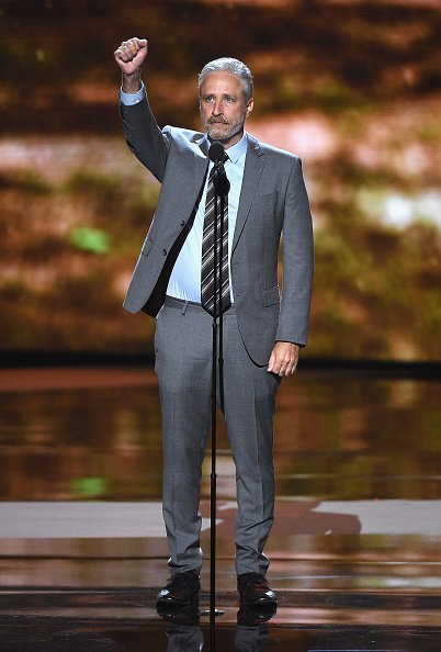Jon Stewart speaks onstage at The 2018 ESPYS at Microsoft Theater on July 18, 2018 | Photo: Getty Images