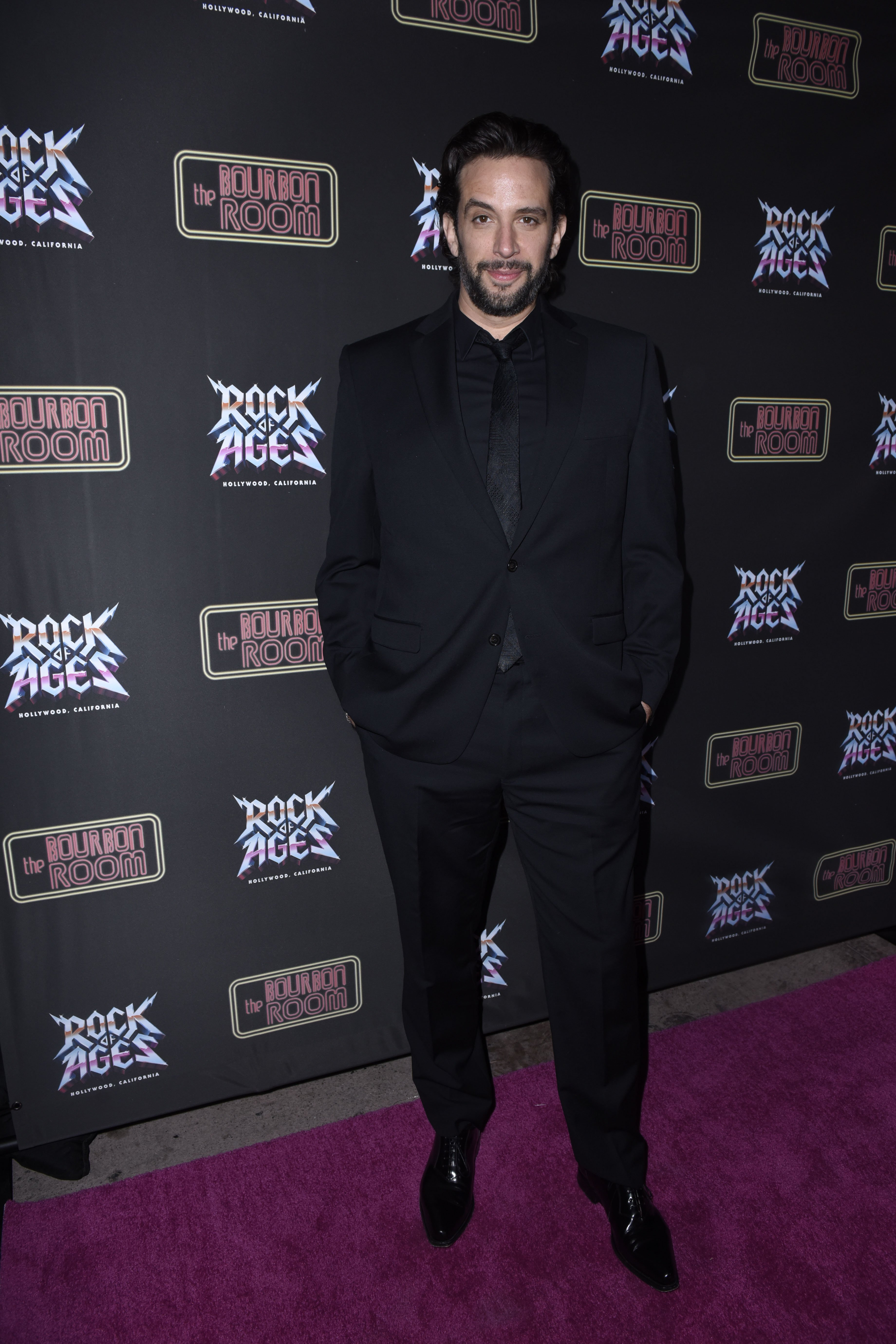 Nick Cordero attends Opening Night Of Rock Of Ages Hollywood on January 15, 2020, in Hollywood, California. | Source: Getty Images.