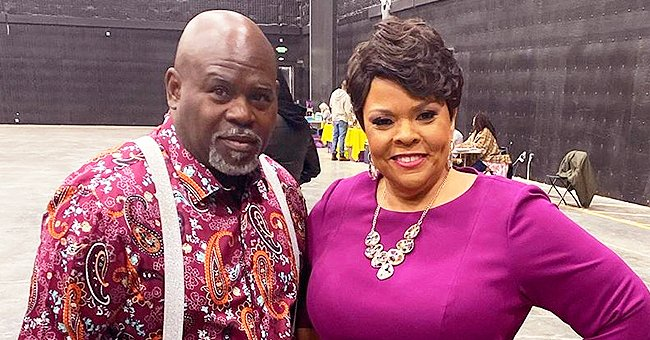 Watch David Mann Lift Wife Tamela up on the Table Multiple Times in an Entertaining New Video