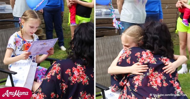 Little girl has an overwhelming reaction when told she's being adopted