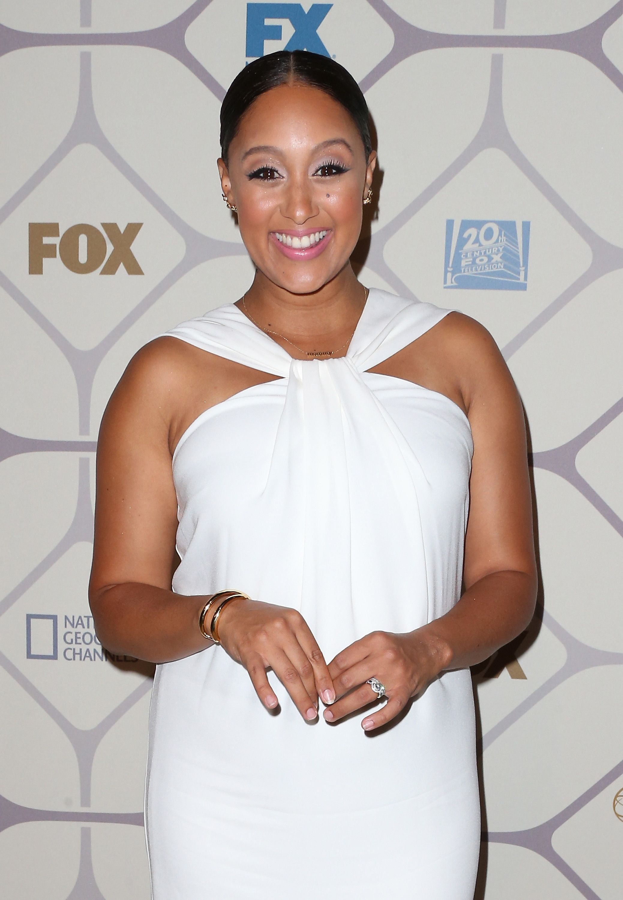 Tamera Mowry at the 67th Primetime Emmy Awards Fox after-party on September 20, 2015 in Los Angeles. | Photo: Getty Images