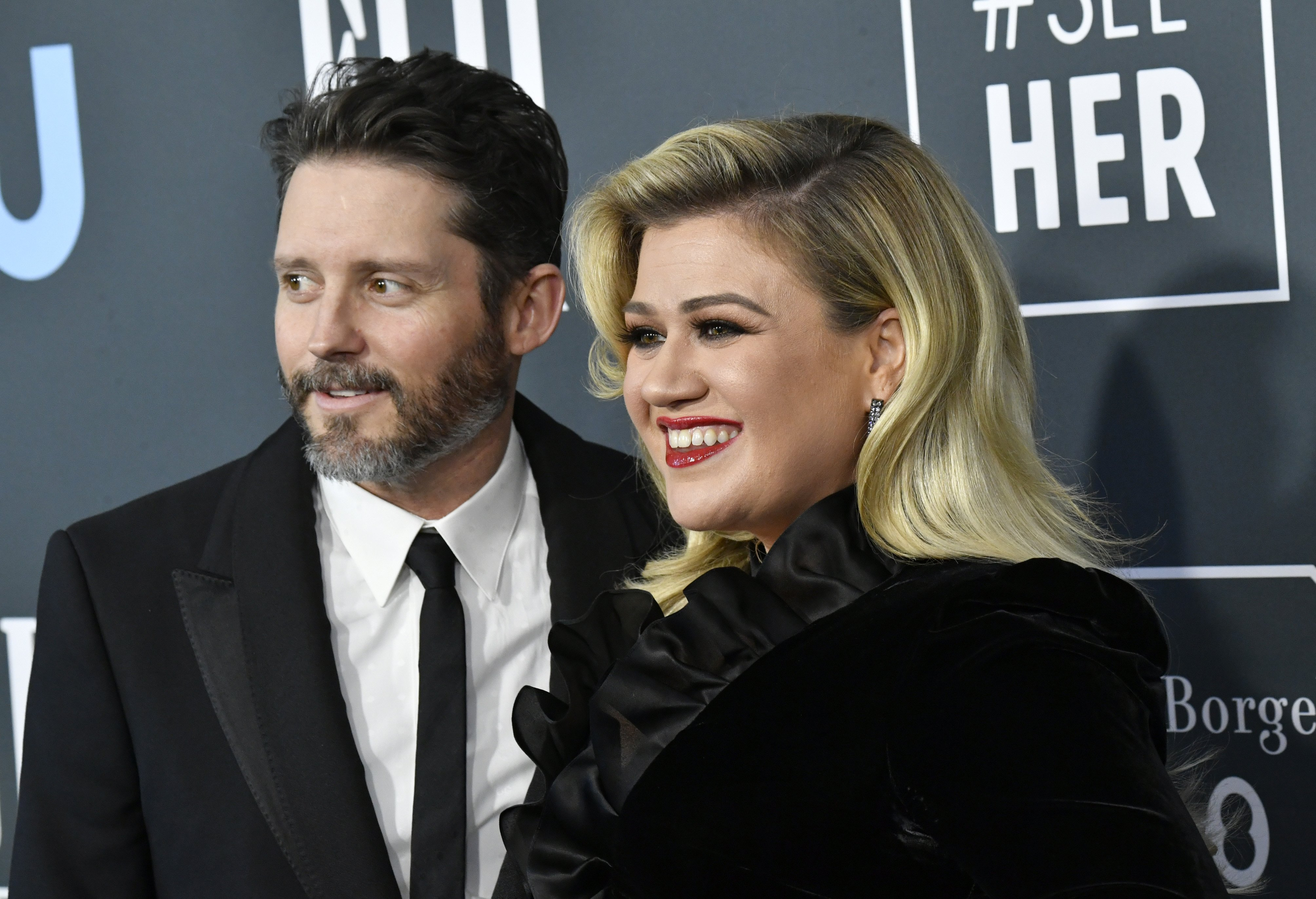 Brandon Blackstock and Kelly Clarkson attend the 25th Annual Critics' Choice Awards on January 12, 2020 | Photo: Getty Images