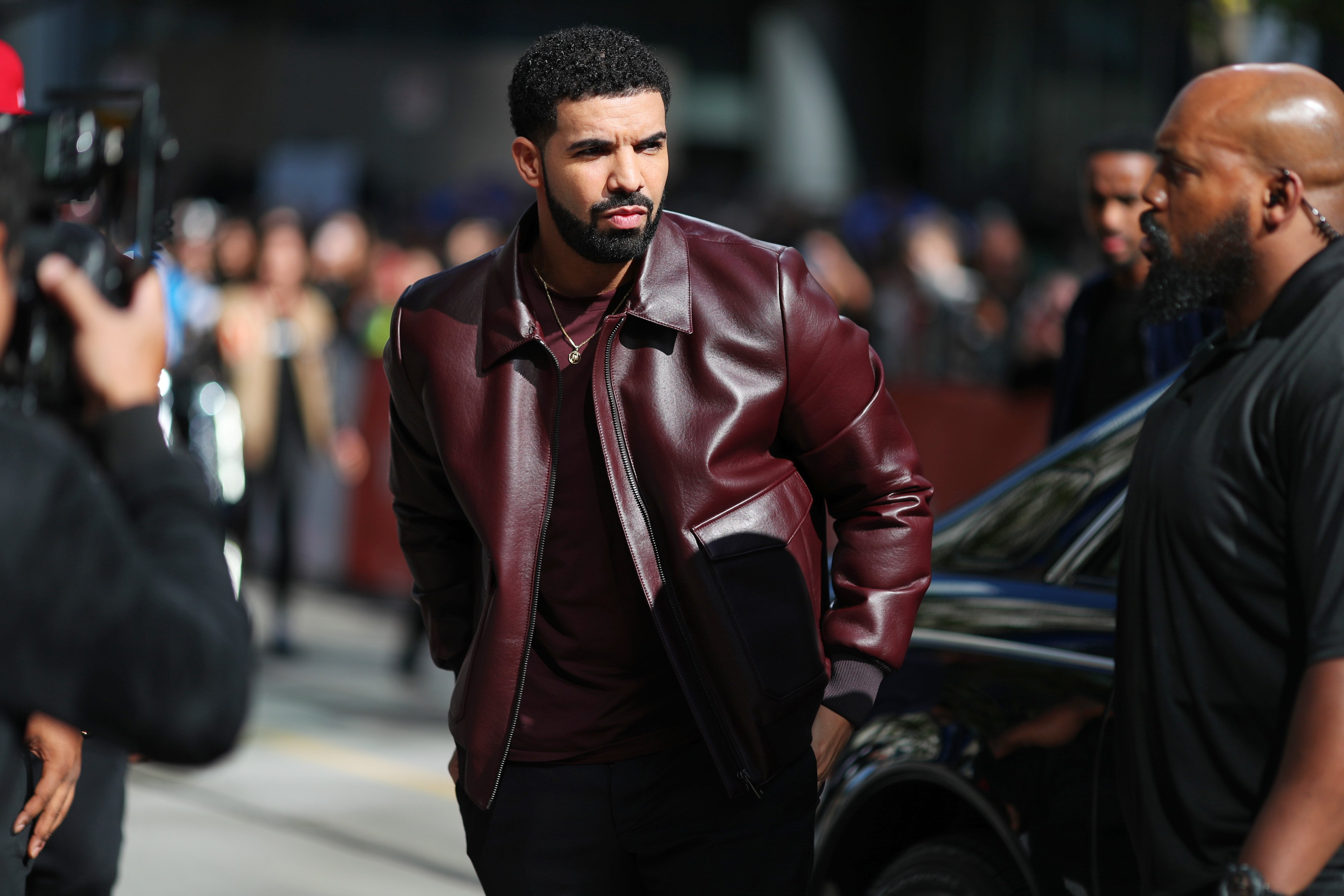 """Drake at """"The Carter Effect"""" premiere during the 2017 Toronto International Film Festival on Sept. 9, 2017 in Canada 