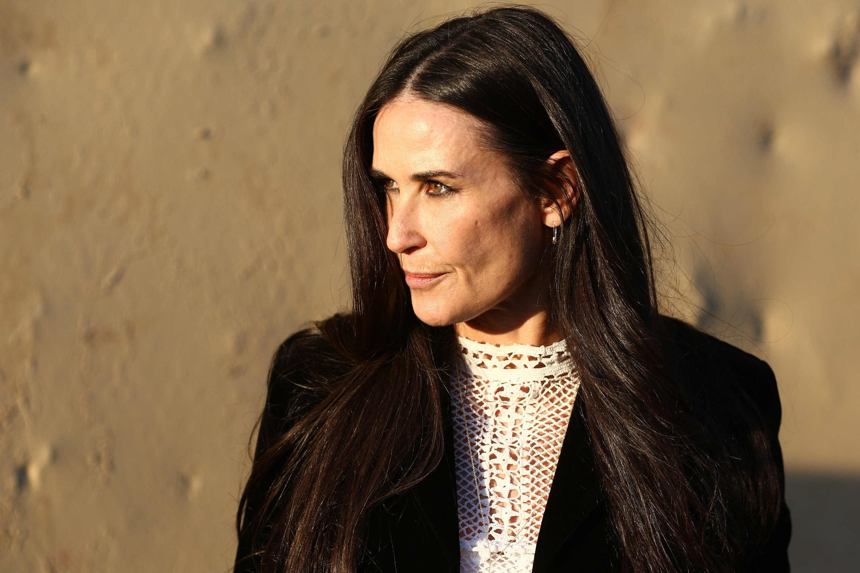 Actor Demi Moore attends the Christian Dior Cruise 2018 Runway Show. | Source: Getty Images