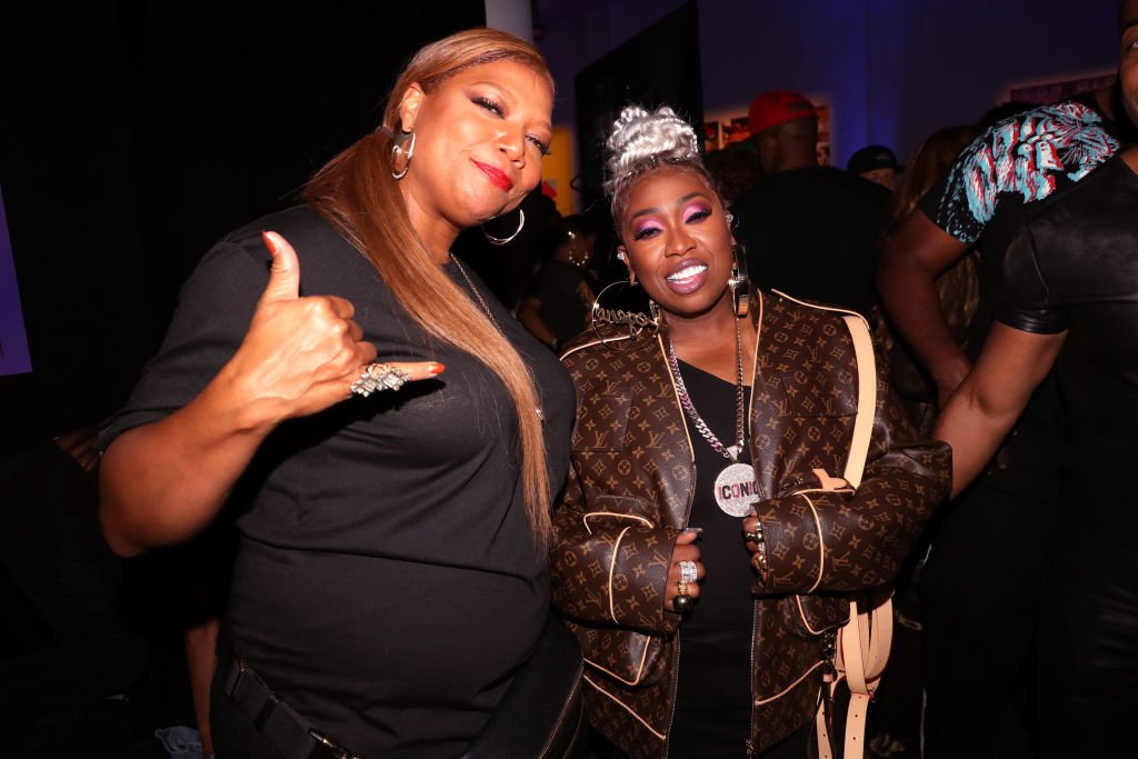 Queen Latifah (L) and Missy Elliott attend Missy Elliott's VMA After Party on August 26, 2019  | Photo: Getty Images