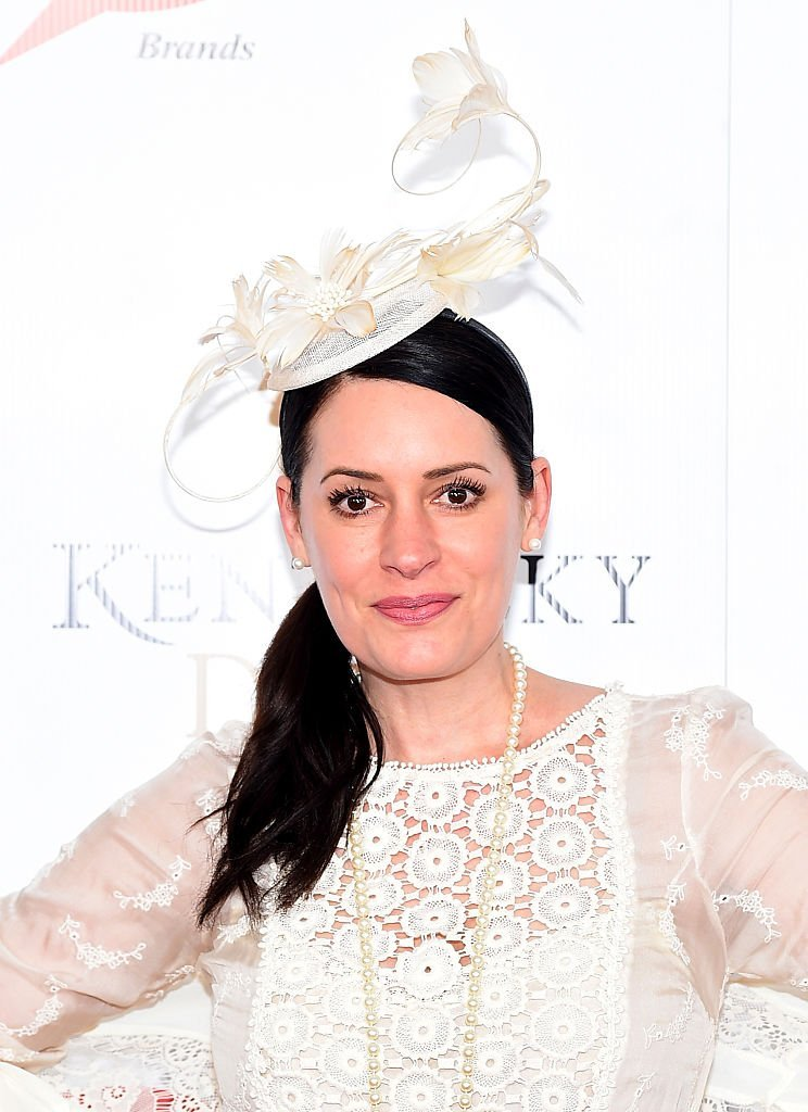 Paget Brewster attends the 141st Kentucky Derby at Churchill Downs | Getty Images