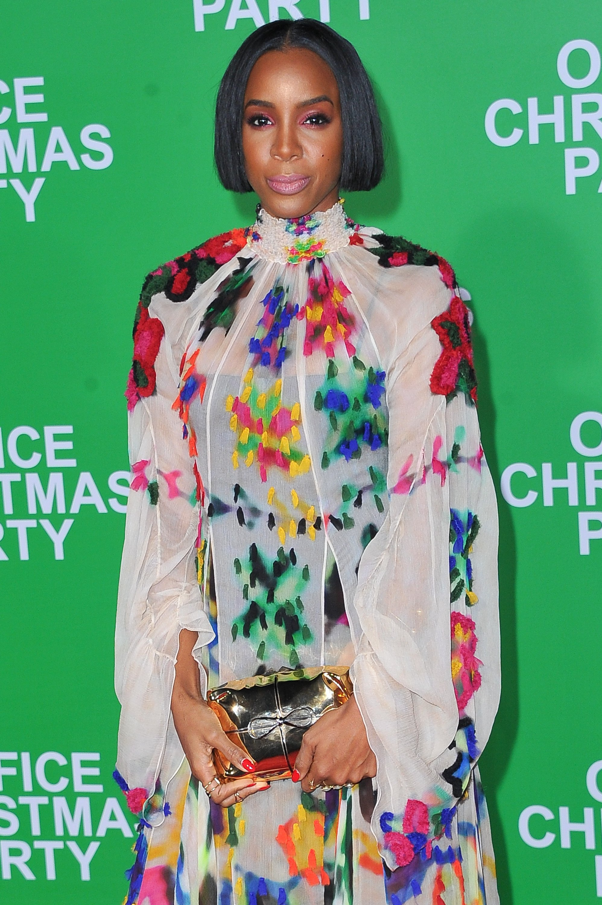 """Kelly Rowland at the Paramount Pictures' """"Office Christmas Party"""" movie premiere on December 7, 2016 in Westwood, California.   Photo: Getty Images"""