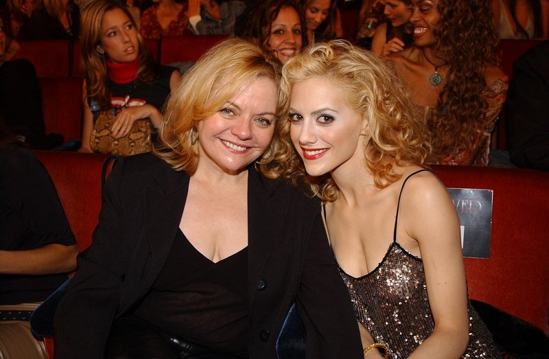 Sharon Murphy and Brittany Murphy on October 15, 2002 in New York City   Photo: Getty Images