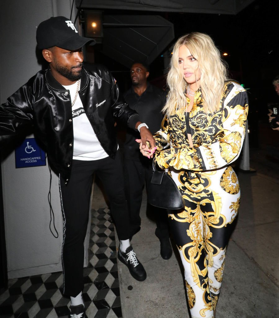 Khloe Kardashian and Tristan Thompson are seen in Los Angeles, August 2018   Source: Getty Images
