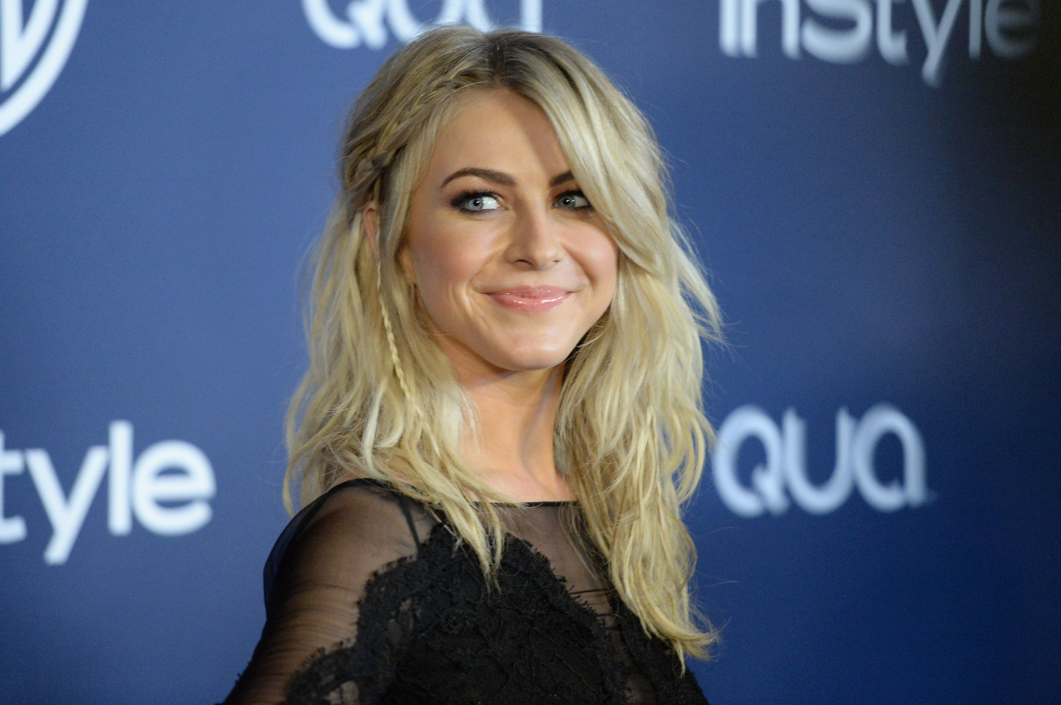 Julianne Hough at the InStyle and Warner Bros. 71st Annual Golden Globe Awards Post-Party on January 12, 2014 | Photo: GettyImages