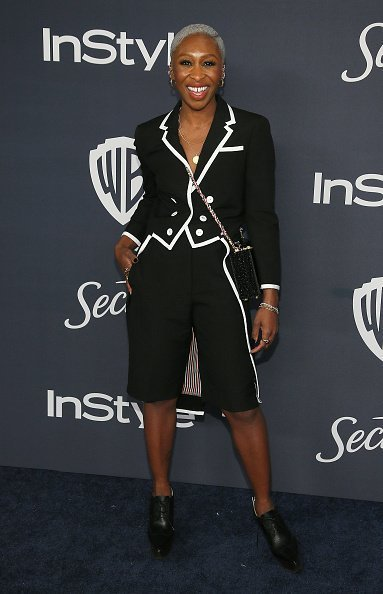 Cynthia Erivo attends the 21st Annual Warner Bros. And InStyle Golden Globe After Party at The Beverly Hilton Hotel in Beverly Hills, California | Photo: Getty Images