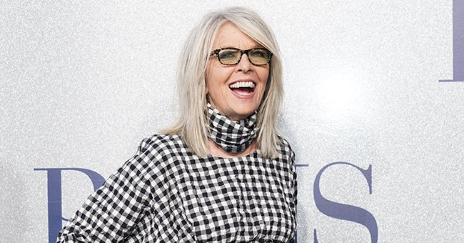 """Diane Keaton attends the premiere of STX's """"Poms"""" at Regal LA Live , May 2019 