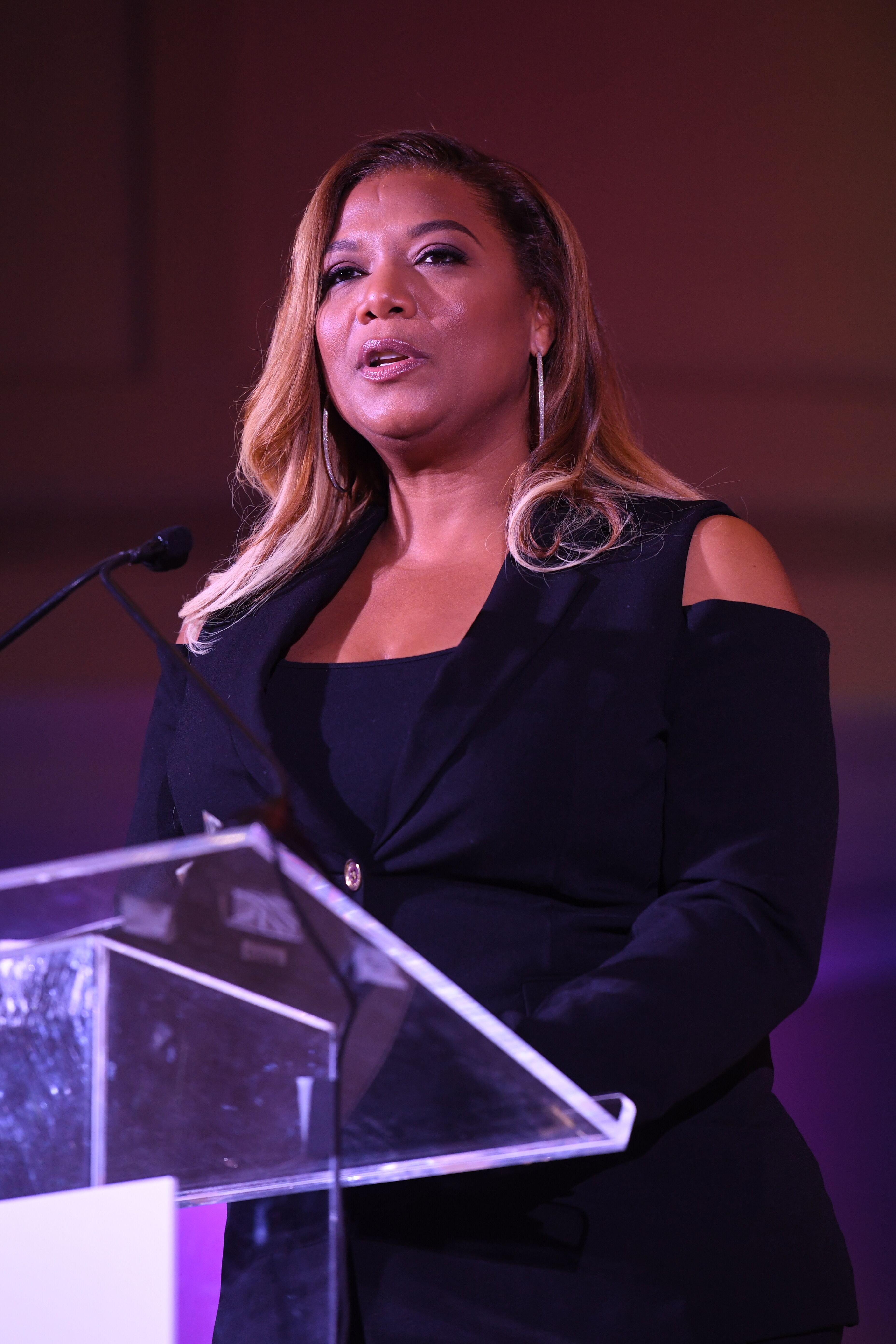 Actress Queen Latifah at the 2017 BronzeLens Film Festival Women SuperStars Luncheon at Westin Peachtree Plaza on August 25, 2017. | Photo: Getty Images