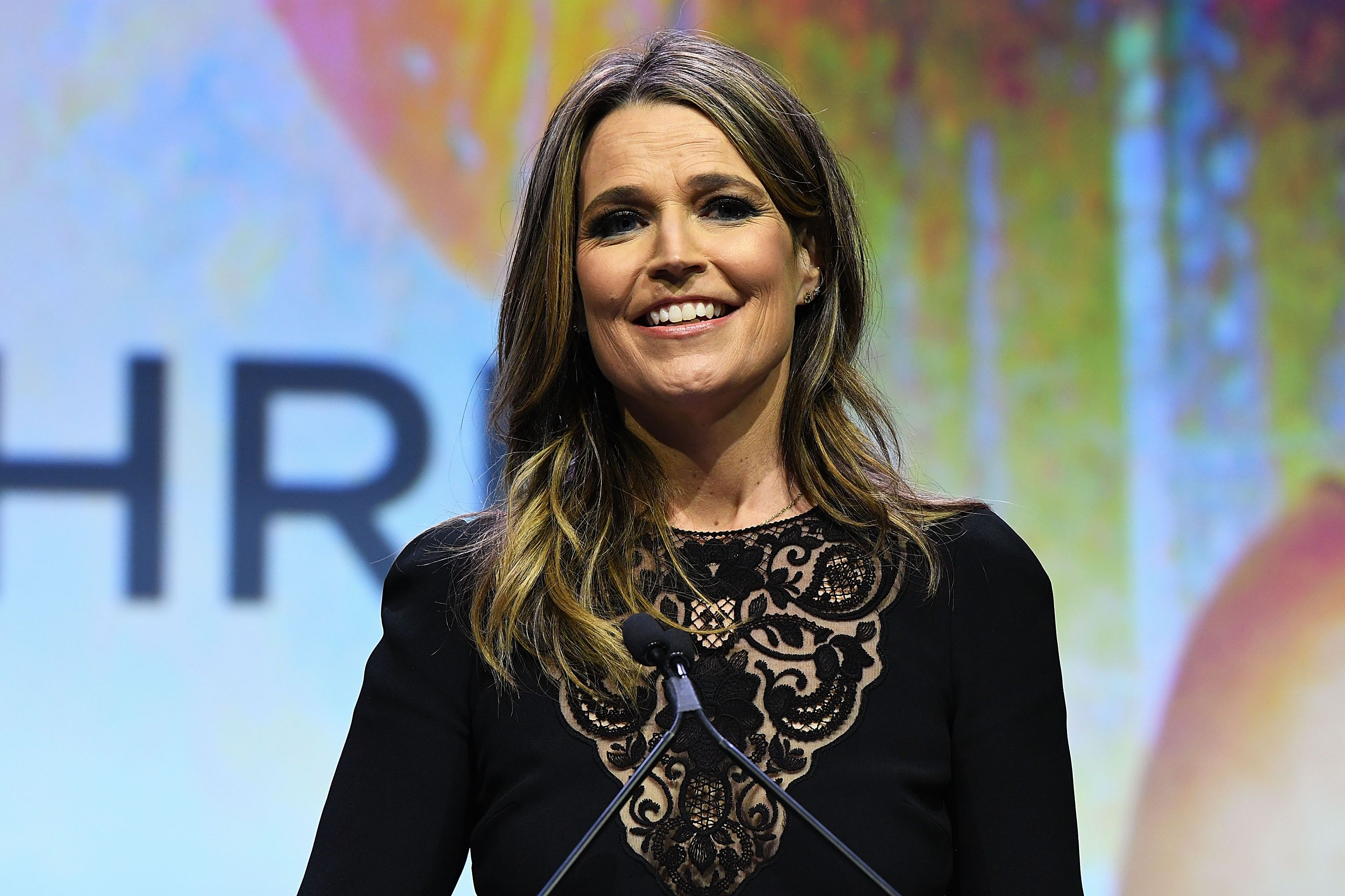 Savannah Guthrie at 2017 Matrix Awards at Sheraton New York Times Square on April 24, 2017 | Photo: Getty Images