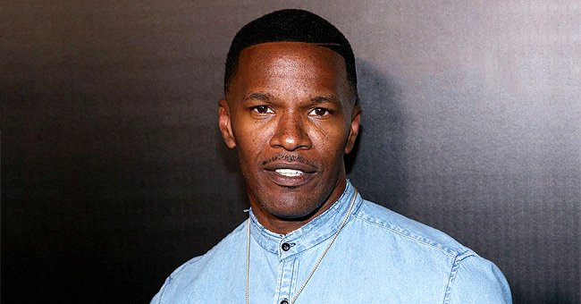 Jamie Foxx Makes Family Appearance with His 2 Daughters Corinne and Anelise at The 2020 SAG Awards
