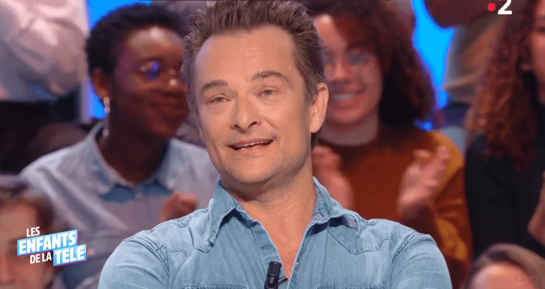 Source : Daily Motion/Closer - David Hallyday intervenant dans Les enfants de la télé