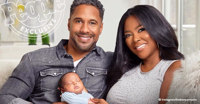 Kenya Moore captures hearts in sweet family pic with husband & daughter for 'People' magazine