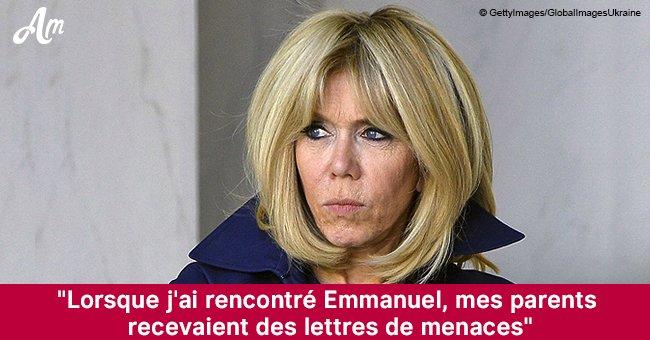 Brigitte Macron raconte que ses parents ont reçu des lettres de menace quand elle a rencontré Emmanuel