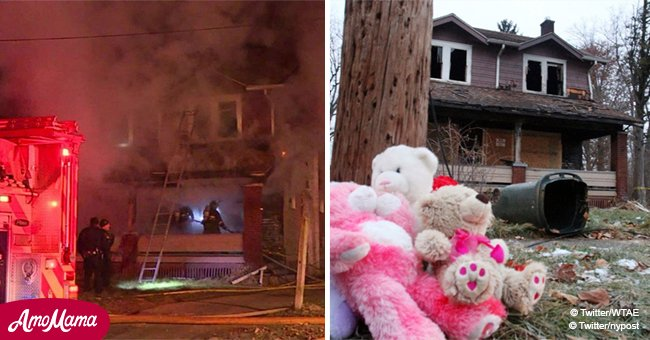 Ohio house fire kills 5 children with one-year-old twins among them