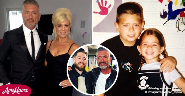 Theresa and Larry Caputo's son is a grown-up man and looks a lot like his dad