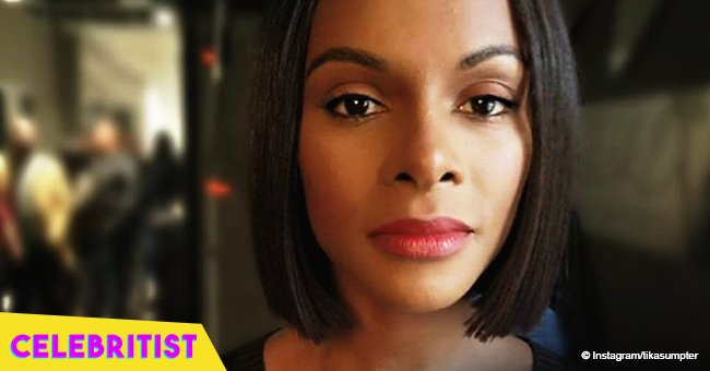 Tika Sumpter flaunts curves in tight black dress in recent picture from her birthday