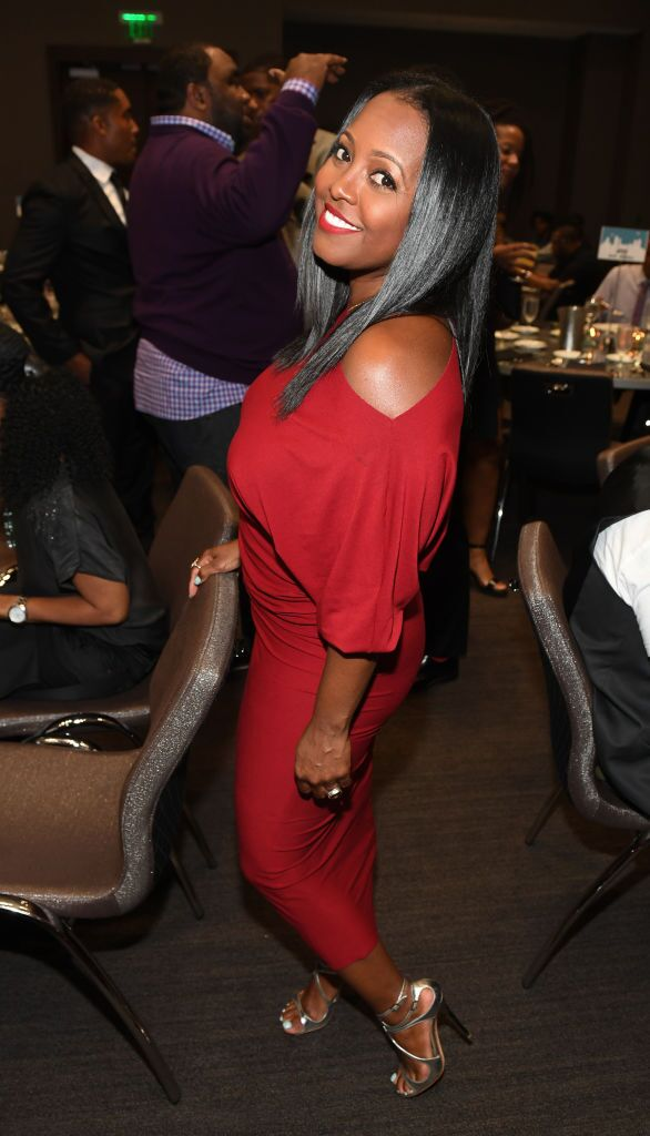 Keisha Knight Pulliam at 2017 ONE MusicFest VIP Dinner at W Hotel Atlanta Downtown on September 7, 2017 in Atlanta, Georgia. | Source: Getty Images