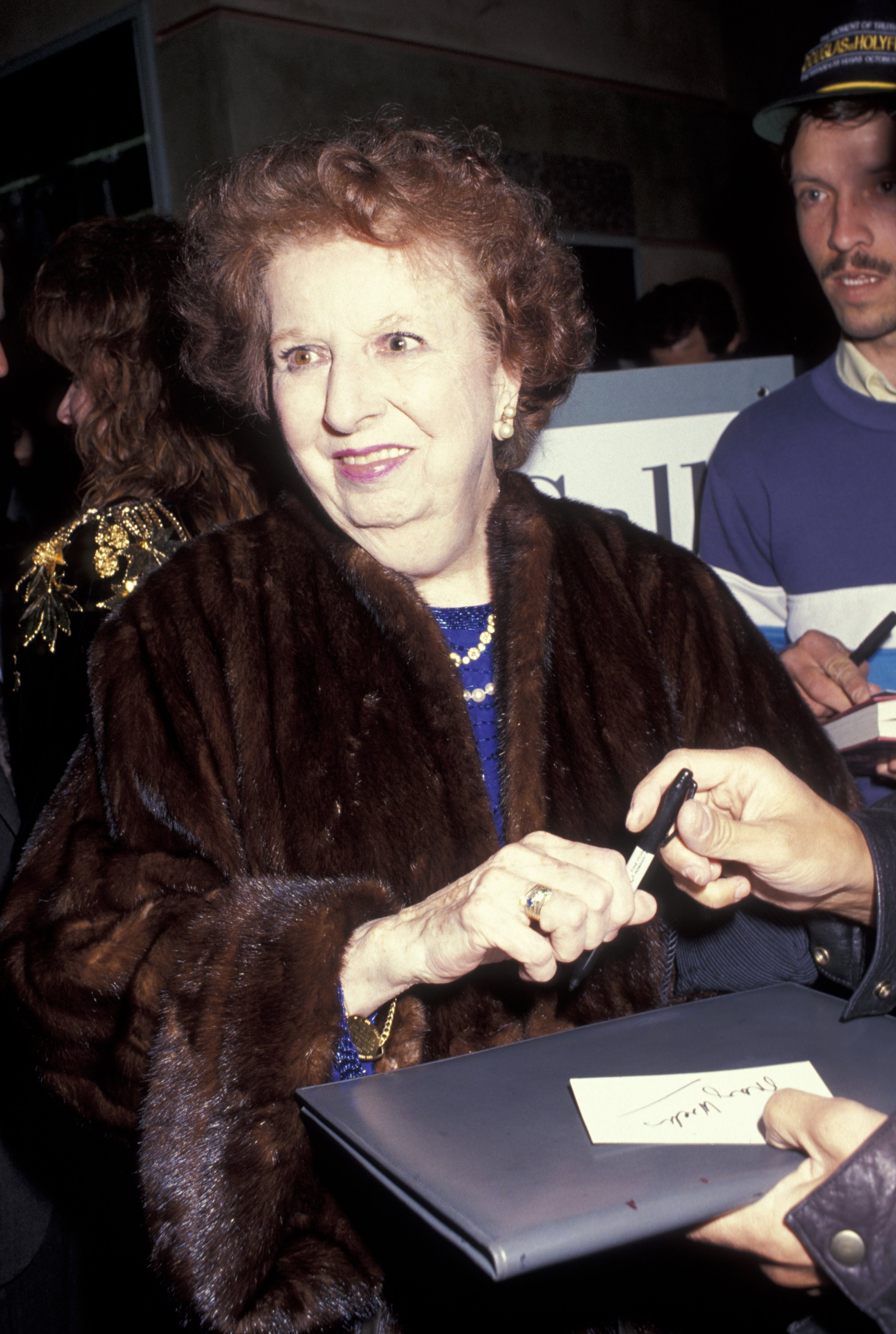 """Mary Wickes during """"Little Night Music"""" - Opening at Doolittle Theater Open in Hollywood, California, United States.   Source: Getty Images"""