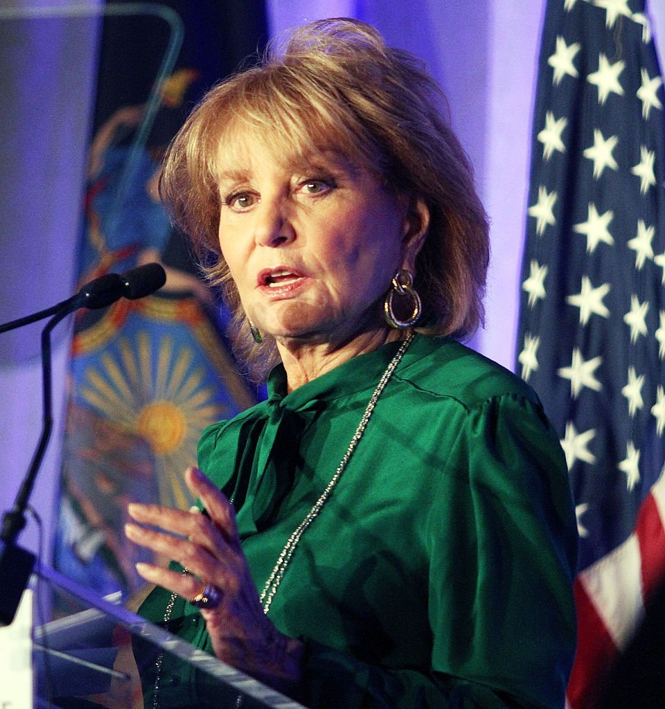 Barbara Walters attends the American Friends Of Magen David Adom Annual Benefit Dinner at The Lighthouse at Chelsea Piers | Getty Images