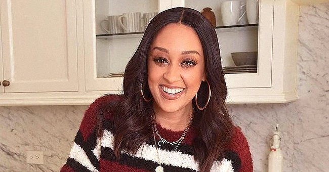 Tia Mowry Melts Fans' Hearts with a Sweet TBT Photo of Look-Alike Daughter Cairo as a Newborn
