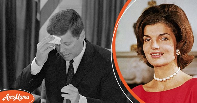 John F. Kennedy in 1961 and wife Jackie Kennedy in 1960 | Photo: Getty Images