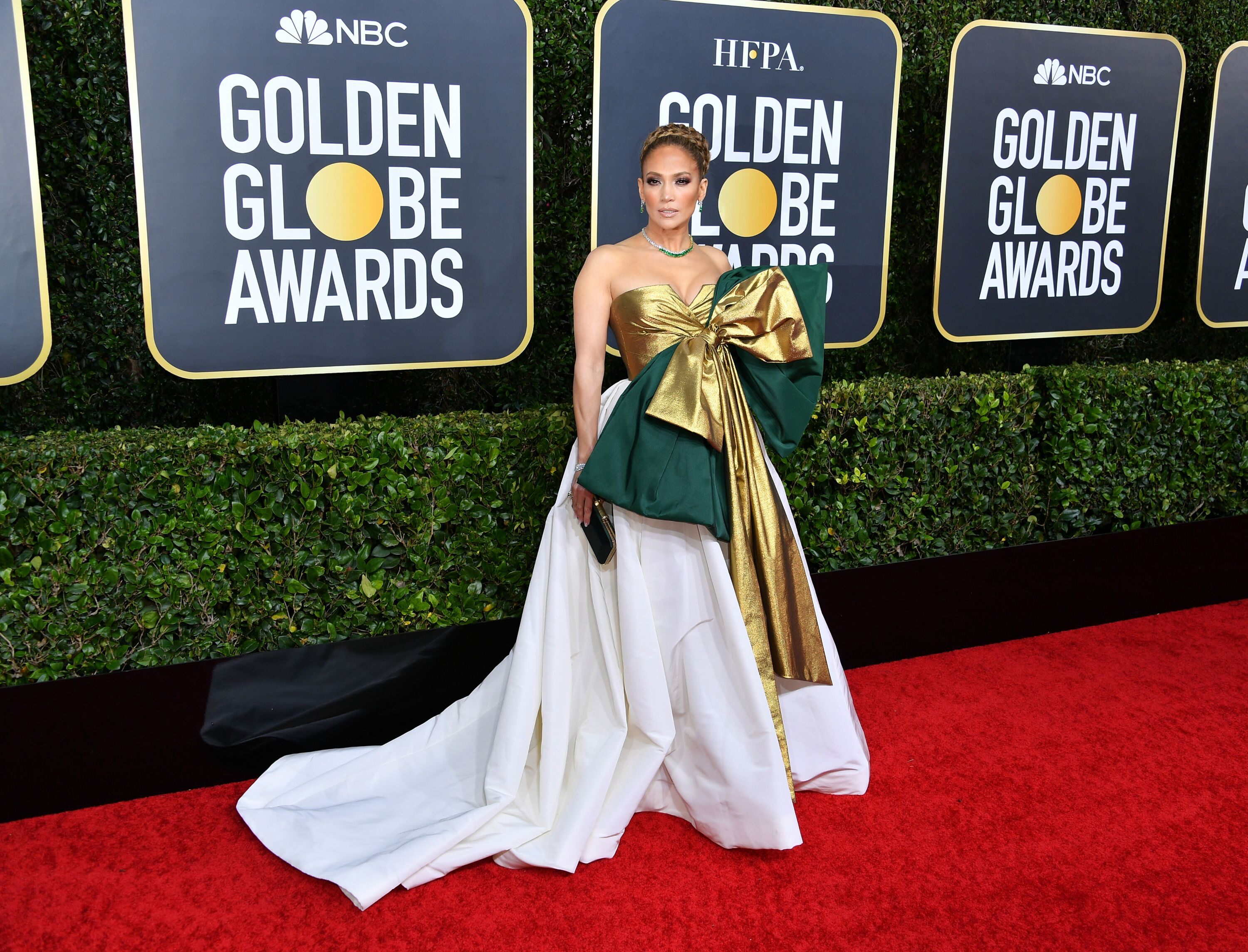Jennifer Lopez at the 77th Annual Golden Globe Awards on January 05, 2020, in Beverly Hills, California | Photo: Getty Images