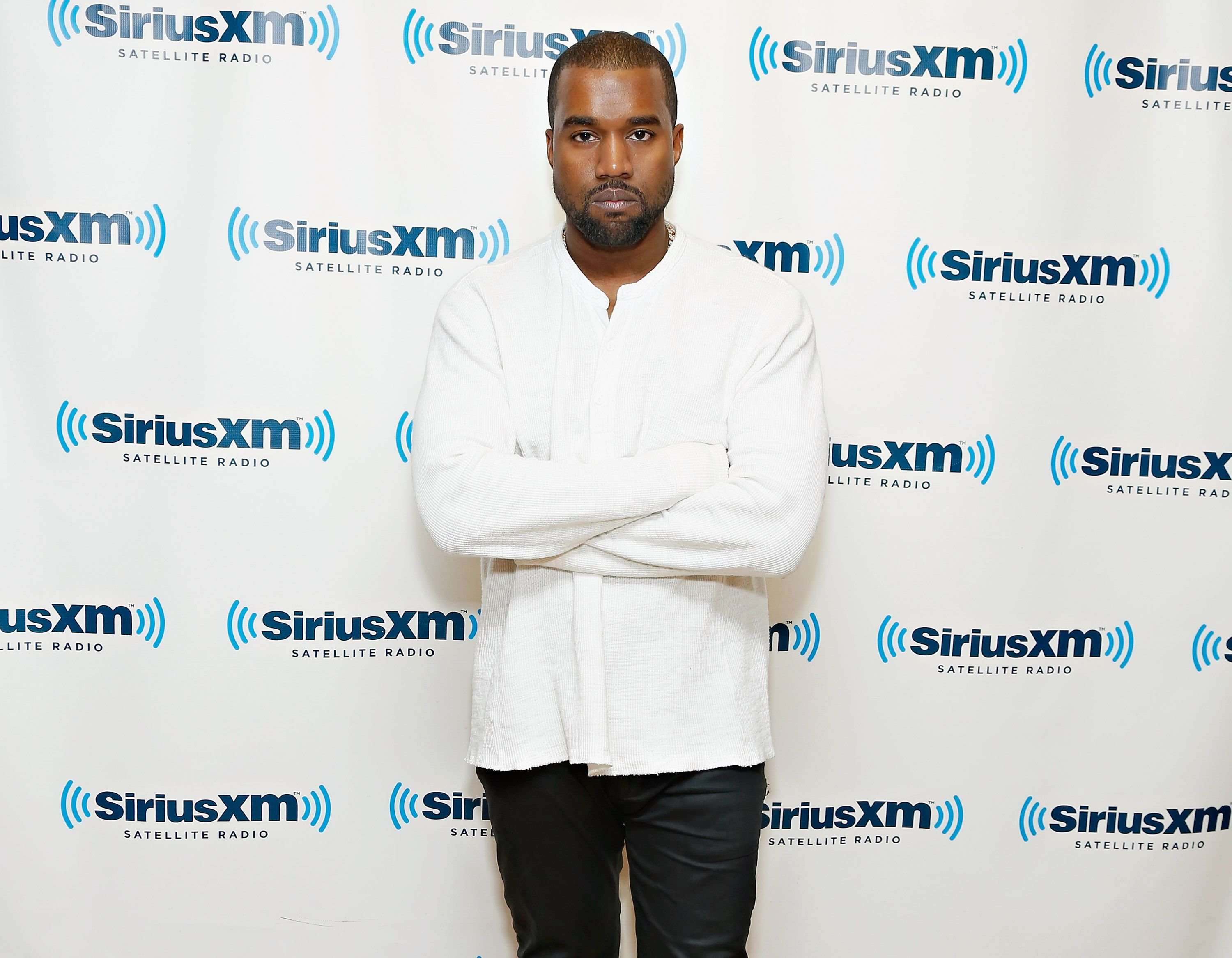 Kanye West at the SiriusXM Studios on November 26, 2013. | Source: Getty Images