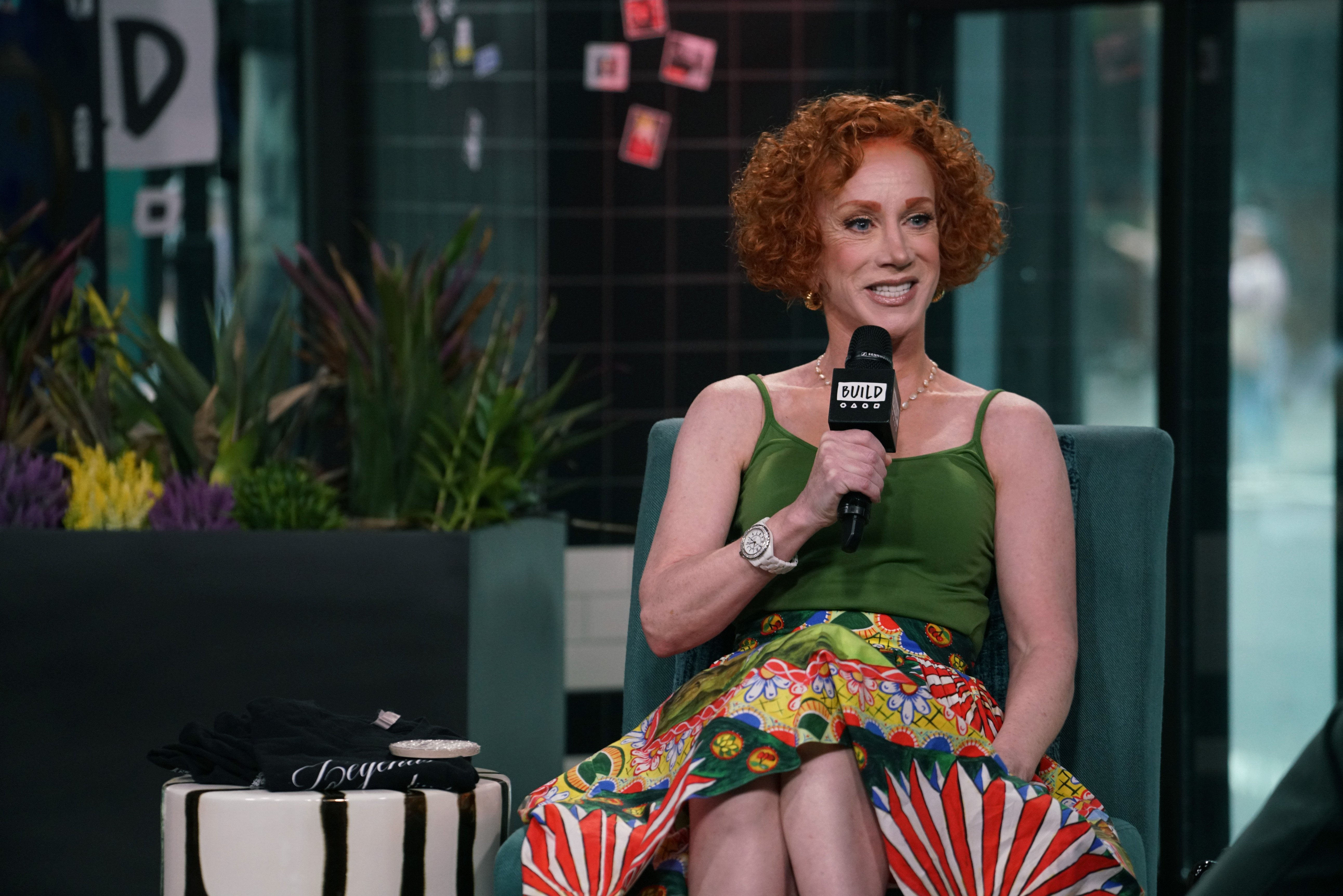 Kathy Griffin attends Build Series to talk about her new film 'Kathy Griffin: A Hell of a Story' at Build Studio on July 18, 2019 in New York City   Photo: Getty Images