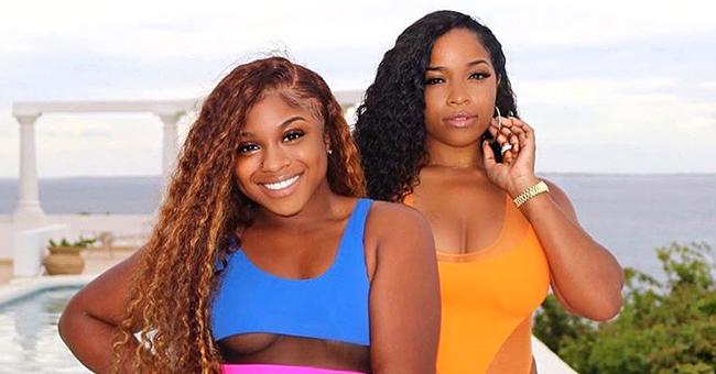 Toya Wright and Reginae Carter Show off Curves in Bright Swimsuits in Photo