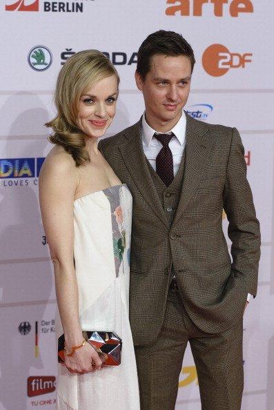 Friederike Kempter, Tom Schilling, European Film Awards 2013, Berlin | Quelle: Getty Images