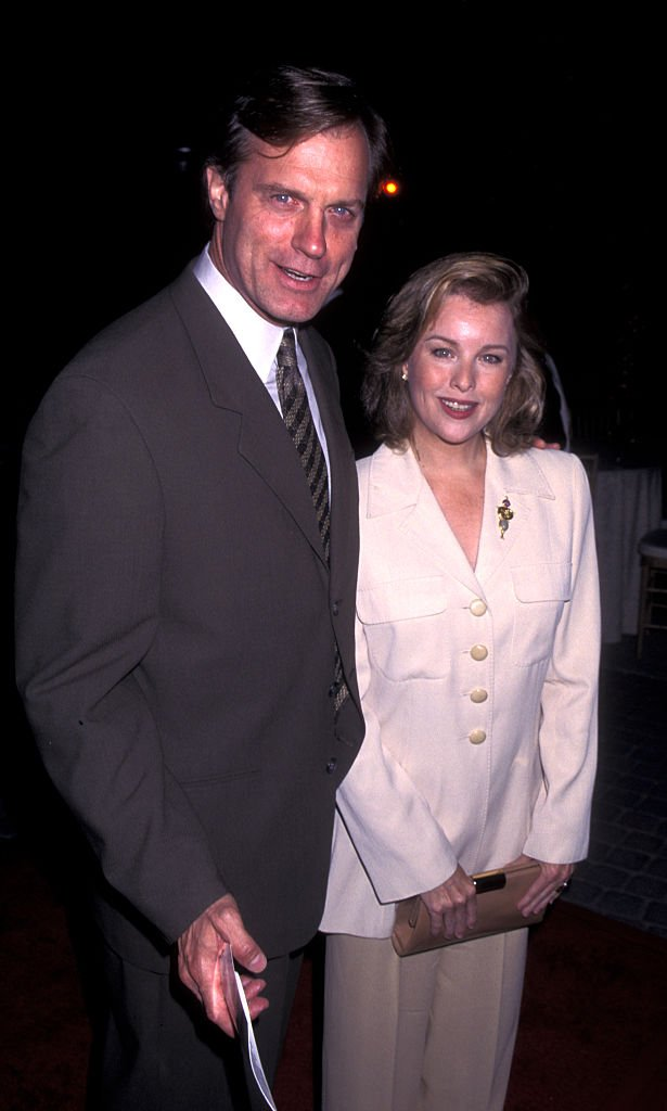 """Stephen Collins and Faye Grant at the premiere of """"First Wives Club"""" on September 16, 1996 