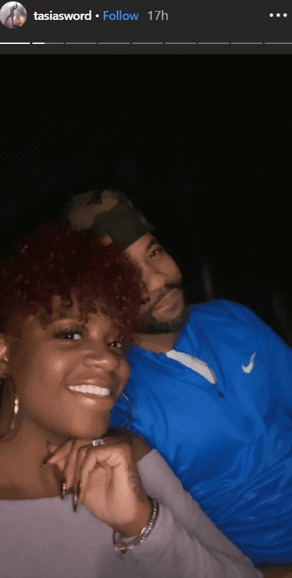 Singer Fantasia and with her husband, Kendall Taylor for their movie date  | Photo: Instagram/Tasiasword