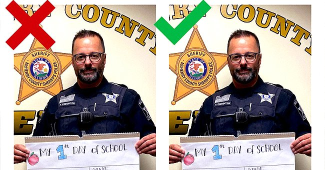 Police officer who cautioned parents on a social media trend.   Photo: facebook.com/McHenryCountySheriff